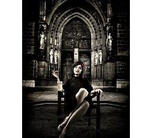The Widow... Photographic Print