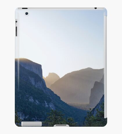 MORNING IN THE VALLEY iPad Case/Skin