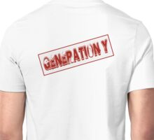 Generation Y Stamp Unisex T-Shirt