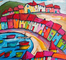 Agay, Cote dÁzur, France by ART PRINTS ONLINE         by artist SARA  CATENA