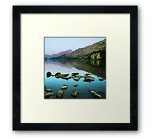 Llyn Gwynant 2 Framed Print