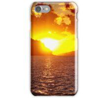 Sunset at Whitsundays iPhone Case/Skin