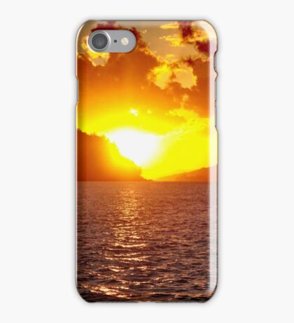 Sunset at Whitsundays iPhone Case/Skin