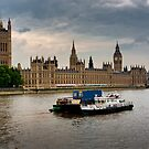 Parliament And The Thames by Ken  Hurst