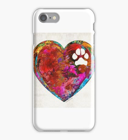 Dog Art - Puppy Love 2 - Sharon Cummings iPhone Case/Skin
