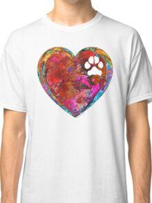 Dog Art - Puppy Love 2 - Sharon Cummings Classic T-Shirt