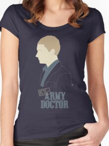 Ex-Army Doctor Women's Fitted Scoop T-Shirt