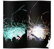 Rave Concert Print Poster
