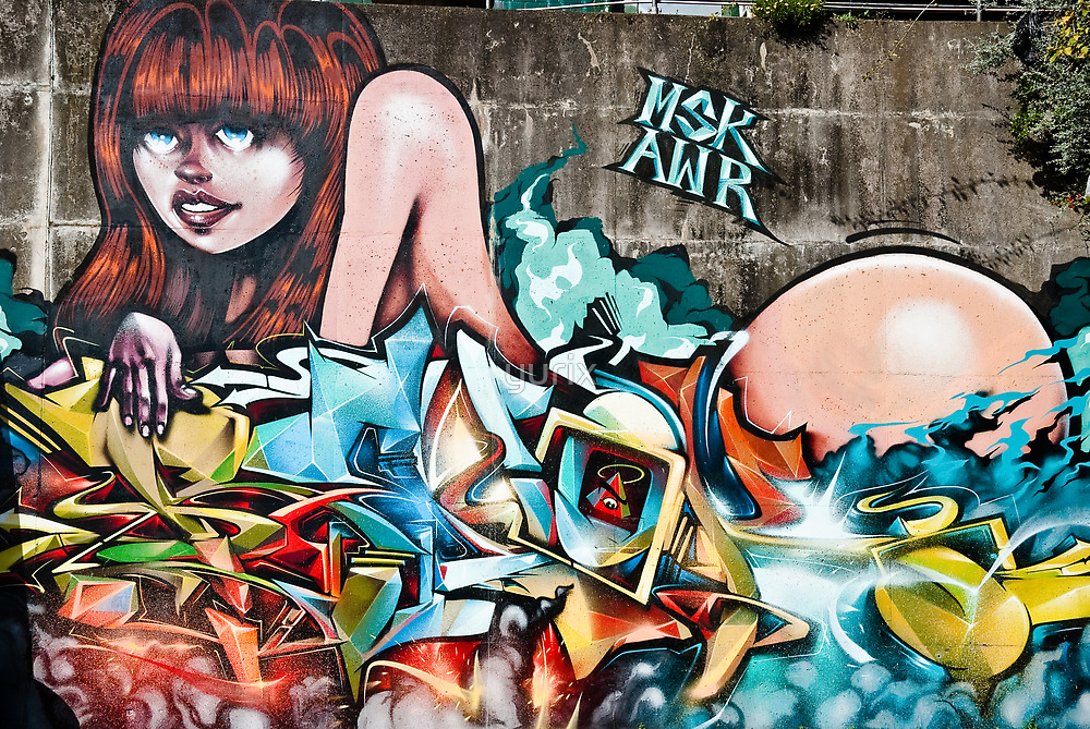 Plunged in Graffiti by yurix
