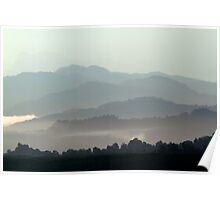 Borneo cascade  Poster