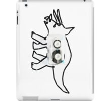 Tape-ceratops iPad Case/Skin