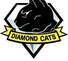 Diamond cats by gallo177
