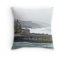 """ IN for another pounding"" Throw Pillow"