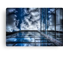 Geometry of Sky Canvas Print
