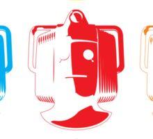 Cyberman pop art Sticker