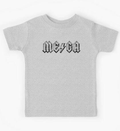 Megatrip ME-GA logo (light shirt version) Kids Clothes