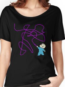 Harold and the purple crayon Women's Relaxed Fit T-Shirt
