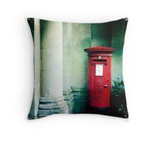 The Postbox Era Throw Pillow