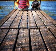 Docks End 2 by Bob Larson