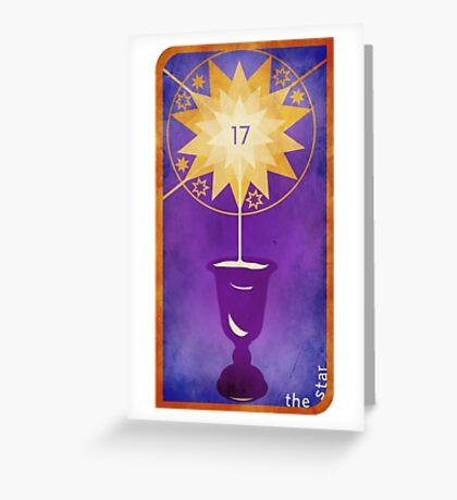 Major Arcana 17 - The Star Greeting Card