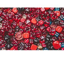 Dice Photographic Print