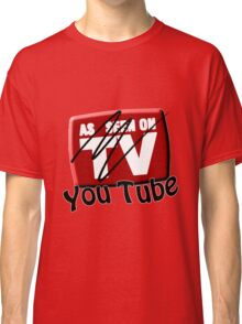 As Seen on... YouTube Classic T-Shirt