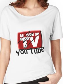 As Seen on... YouTube Women's Relaxed Fit T-Shirt
