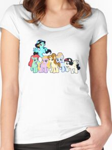 Ponified Princess Women's Fitted Scoop T-Shirt