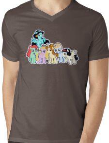 Ponified Princess Mens V-Neck T-Shirt