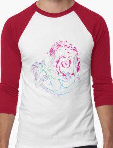 W4RP41NT Men's Baseball ¾ T-Shirt