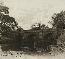 Ilam Bridge by David J Knight