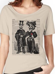 Calavera Couple Women's Relaxed Fit T-Shirt