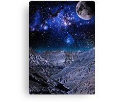 Lost Planet Canvas Print
