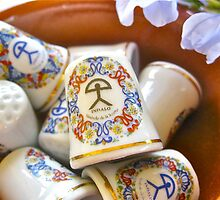 Selection of Indalo ceramic thimbles from Spain by Indalo