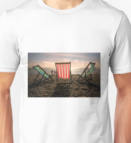 Evening walk on the beach T-Shirt