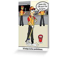 New Job 4 Greeting Card