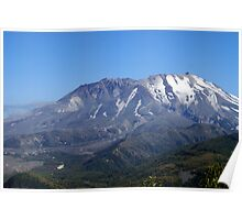 Mt St Helen's, Washington Poster