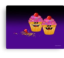 CUPCAKE CANNIBALS ART Canvas Print