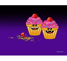 CUPCAKE CANNIBALS ART Photographic Print