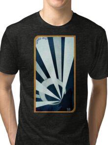 Major Arcana 18 - The Moon Tri-blend T-Shirt