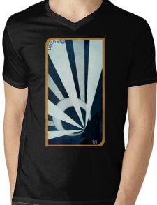 Major Arcana 18 - The Moon Mens V-Neck T-Shirt