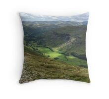 The Track Into Grisedale Throw Pillow