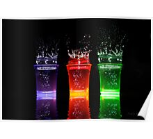 Splash shots Poster