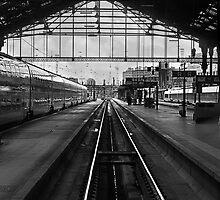 Pointing South. Gare du Lyon Paris by Paul Pasco