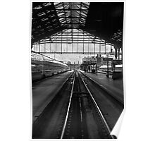 Pointing South. Gare du Lyon Paris Poster