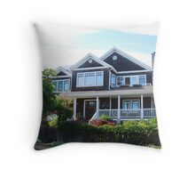 Fabulous Beach Cottage Throw Pillow