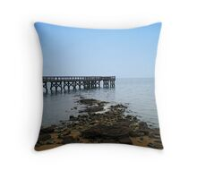 Atlantic Pier  Throw Pillow