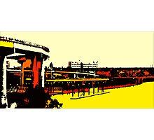 Freeways - Porland OR. Heart Photographic Print