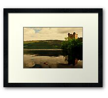 """CALM ON THE LOCH"" Framed Print"