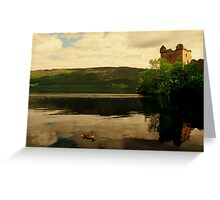 """CALM ON THE LOCH"" Greeting Card"